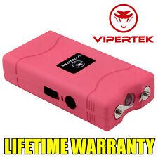 VIPERTEK PINK VTS-880 35 MV Rechargeable Police Mini Stun Gun + Taser Case