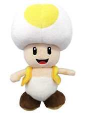 1x Sanei (AC32) Super Mario All Star Collection - Yellow Toad Stuffed Plush