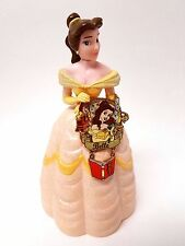 Beauty And The Beast Belle Book Disney Trading Collectible Pin 2007 + Figurine