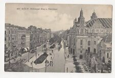 Koeln Habsburger Ring & Oppernhaus Vintage Postcard Germany 157a