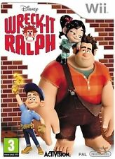 Wreck-It Ralph (Nintendo Wii, 2012) - European Version