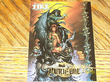 DARKNESS WITCHBLADE FAMILY TIES PROMO TRADING CARD