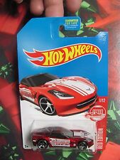 2017 Hot Wheels Red Edition #1 '14 Chevy Corvette Stingray TARGET EXCLUSIVE