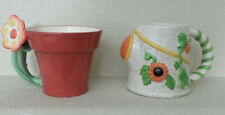 Carnation Coffemate Flower Pot and Watering can cup 2pc set
