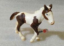 RARE Schleich Pvc Farm Animals ✱ PINTO FOAL PONY HORSE ✱ 2004 Now Retired NEW