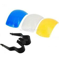 Practical Pop-Up Flash Bounce Diffuser Cover kit For Canon Nikon Olympus Camera