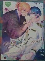 please kiss me~ by Dolce Einsatz Uta no Prince Sama Yaoi Masato x Ren Doujinshi
