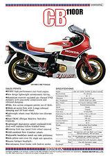 HONDA Brochure CB1100R 1983 Sales Catalog REPRO