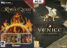 King's Quest Collection ( 7 Games ) & rise of vencice gold  new&sealed