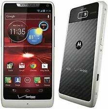 Motorola XT907 WHITE Droid Razr M 4G Verizon Wireless Camera Android Smartphone