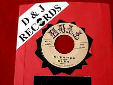 LEGENDS~ THE LEGEND OF LOVE~ VG+~ NOW I'M TELLING YOU~ HULL ~ DOO WOP 45