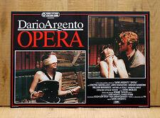 OPERA fotobusta poster Dario Argento Macbeth Verdi Horror