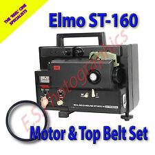ELMO ST-160  Super 8mm Sound Cine Projector Belts Set of 2