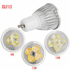 Cree GU10 MR16 GU5.3 Dimmable LED Spotlight Bulb 6W 9W 12W 15W COB/Epistar Lamp
