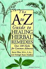 The A to Z Guide to Healing Herbal Remedies, Elias, Jason, Good Condition, Book