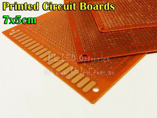 1x PCB Printed Circuit Board 7x5 cm for 3mm 5mm superflux LED DIY Project