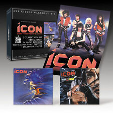 ICON - S/T & Night Of The Crime - 2 CD Warriors Box Set Axe Killer