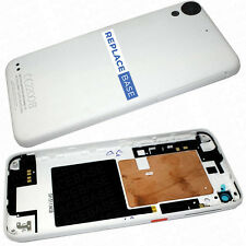 For HTC Desire 530 - Replacement Battery Cover White With Buttons White OEM