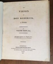 1811 - Walter Scott. The Vision Of Don Roderick.  First Edition.