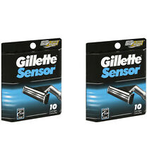 Gillette Sensor for Men Razor Blade Refills, 20 Cartridges (2 Packs of 10)