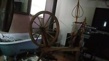Antique American Saxony spinning wheel,  Ready to use