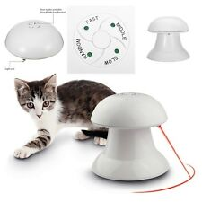 New Automatic Interactive Dart Laser Light Exercise Teaser Toy For Cat Dog Pet
