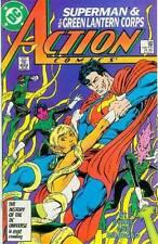 Action Comics # 589 (John Byrne) (Superman, co-star anillo GL Corps) (Estados Unidos, 1987)