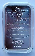 1oz. 79th Element  Pure Silver Bar 9999 London (9)