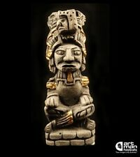 Mayan Temple God Tiki Decor Art Sculpture Statue Figurine Mexican Mexico Vintage