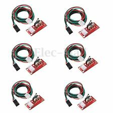 6pcs Mechanical Endstop Limit Switch With Cable for CNC 3D Printer  RAMPS 1.4