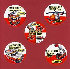 15 Tonka Medical Emergency Rescue - Large Stickers - Ambulance, Helicopter