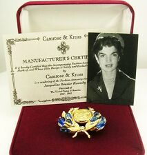 """Jackie Kennedy Grecian Coin Pin  2"""""""