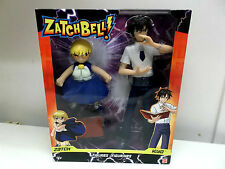 Zatch Bell: Zatch and Kiyo Figures Anime Manga  Konjiki no Gash Bell Rare BNIB !