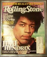 ROLLING STONE - THE LEGEND OF JIMI HENDRIX COVER - EMINEM #980 AUGUST 2005
