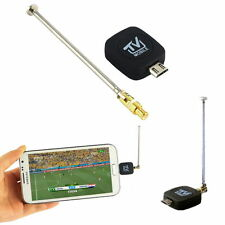 Mini Micro USB DVB-T + Antenn Digital TV Tuner Receiver Android Phone Tablet PC