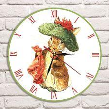Reloj De Pared Peter Rabbit Beatrix Potter Color Vinyl Record De Diseño Playroom Shop 2
