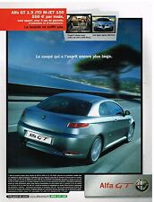Publicité Advertising 2005 Radio Alfa romeo GT 1.9 JTD M-JET