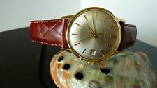 Eterna Matic Gold plated Men's watch pristine condition-Beautiful.