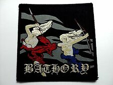 "Bathory ""Blood Fire Death""   WOVEN  PATCH"