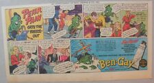 Ben-Gay Ad: Peter Pain: Gets The Freeze-Out! 7.5 x 14 inches