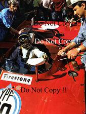 Ronnie Peterson Ferrari 312 PB Buenos Aires 1000 Km 1972 Photograph 1