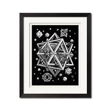 M.C.Escher Stars Poster Print