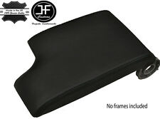 BLACK STITCH GENUINE LEATHER ARMREST COVER FITS BMW E46 3 SERIES 1998-2005