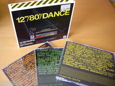 "12"" 80S DANCE (2006) 3-CD: DEAD OR ALIVE ROCKWELL FREEEZ NR MINT"