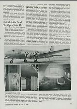1945 Aviation Article President Roosevelt Doulgas C-54 Airplane Plane Truman