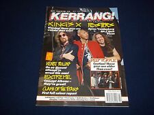 1990 OCTOBER 20 KERRANG! MAGAZINE - KING'S X - MUSIC ISSUE - A 1685