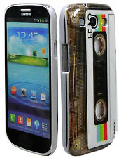 Classic Cassette Tape Hard Case Cover for Samsung Galaxy S3 i9300 III