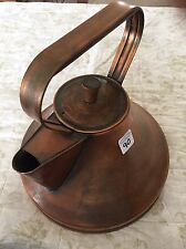 Antique Copper Hand Made Artisan Tea Kettle Tea Pot American Made