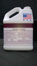 LIQUID ENZYME BACTERIA SEPTIC SYSTEM TREATMENT 1 GAL 2 YEAR SUPPLY DRAIN CLEANER
