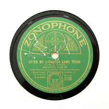 "MAURICE ELWIN ""After My Laughter Came Tears"" ZONOPHONE 5156 [78 RPM]"
